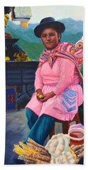 Andean Mama Hand Towel