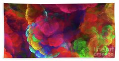 Bath Towel featuring the digital art Andee Design Abstract 27 2017 by Andee Design