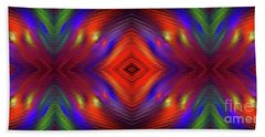 Hand Towel featuring the digital art Andee Design Abstract 3 2015 by Andee Design