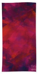 Bath Towel featuring the digital art Andee Design Abstract 39 2017 by Andee Design