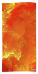 Bath Towel featuring the digital art Andee Design Abstract 43 2017 by Andee Design