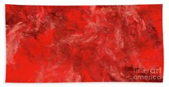 Hand Towel featuring the digital art Andee Design Abstract 6 2015 by Andee Design