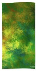 Hand Towel featuring the digital art Andee Design Abstract 78 2017 by Andee Design