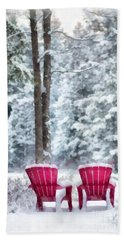 Anderson Pond Eastman Grantham Winter Bath Towel