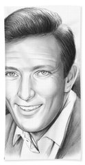 Andy Williams Hand Towel