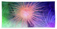 Bath Towel featuring the photograph Anemone Color by Anthony Jones