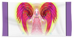 Angel #199 Hand Towel by Barbara Tristan