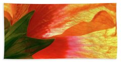 Bath Towel featuring the photograph Angel Brushstrokes  by Marie Hicks