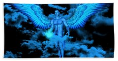 Angel Gabriel Bath Towel