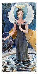 Angel Of Balance And Harmony Bath Towel