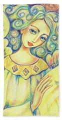 Angel Of Mercy Hand Towel