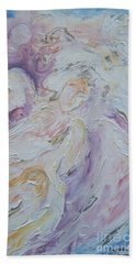 Angel Of Messages Bath Towel