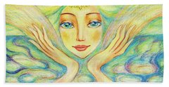 Angel Of Serenity Hand Towel