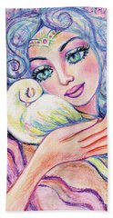 Angel Of Tranquility Hand Towel