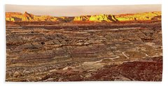 Bath Towel featuring the photograph Angel Peak Badlands - New Mexico - Landscape by Jason Politte