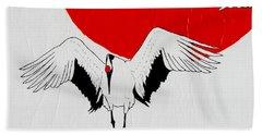 Angelic Crane Hand Towel