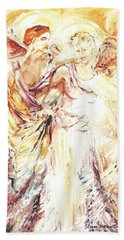 Angels Emerging Bath Towel