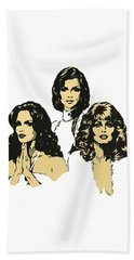 Angels Bath Towel by Julio Lopez