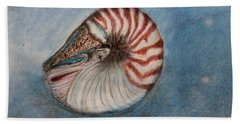 Angel's Seashell  Hand Towel