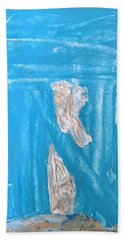 Angels Under A Bridge Hand Towel