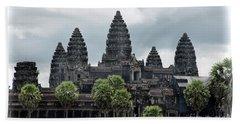 Angkor Wat Focus  Hand Towel by Chuck Kuhn