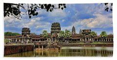 Angkor Wat Panorama  Bath Towel