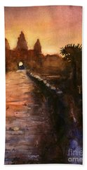Angkor Wat Sunrise 2 Bath Towel