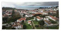 Hand Towel featuring the photograph Angra Do Heroismo, Terceira by Kelly Hazel