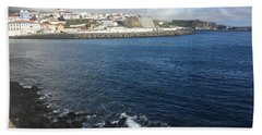 Angra Do Heroismo, Terceira, The Azores, Portugal Hand Towel
