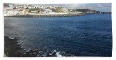 Angra Do Heroismo, Terceira, The Azores, Portugal Bath Towel