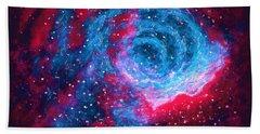 Angry Nebula  Hand Towel