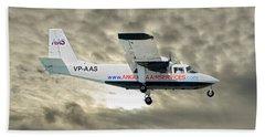 Anguilla Air Services Britten-norman Bn-2a-26 Islander 115 Hand Towel