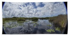 Anhinga Trail 86 Hand Towel by Michael Fryd