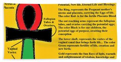 Ankh Meaning Hand Towel