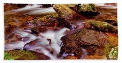 Anna Ruby Falls - Smith Creek 006 Bath Towel