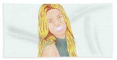 Annalynne Mccord Bath Towel