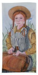 Anne Of Green Gables Hand Towel by Kelly Mills