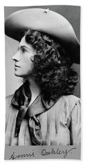 Annie Oakley Profile Hand Towel