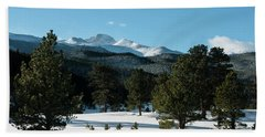 Another Beautiful Day In Rocky Mountain National Park - 0612 Hand Towel