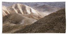 Another View From Masada Bath Towel