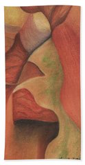 Antelope Canyon 2 Bath Towel