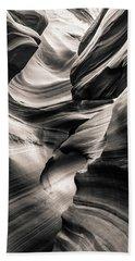 Antelope Canyon Bw Hand Towel