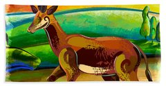Antelope Of The Valley Hand Towel