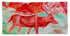 Antelope Save Hand Towel