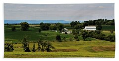 Antietam Battlefield And Mumma Farm Bath Towel