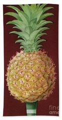 Antigua Black Pineapple Hand Towel