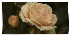 Antique English Rose Bath Towel