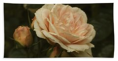 Antique English Rose Hand Towel
