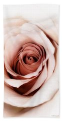 Antique Rose Bath Towel