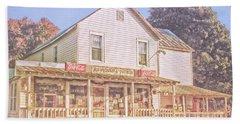 Antique Store, Colonial Beach Virginia Hand Towel